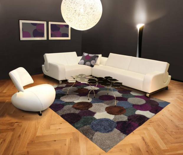 Decorando el hogar con alfombras de gran diseño.