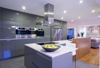 Decorando las cocinas con estilo contemporáneo.