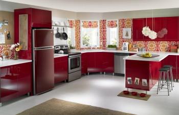 El uso de los electrodomésticos en la cocina.