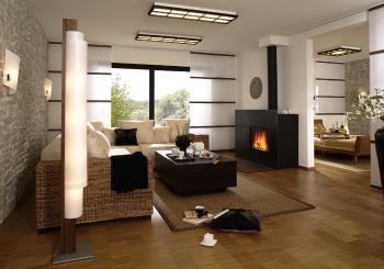 El uso de paneles decorativos en el hogar.