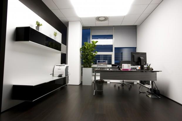 Estilo toscano, perfecta elección para una oficina en casa.