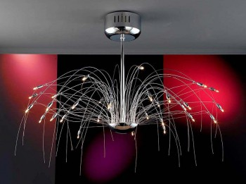 Iluminarias modernas para el hogar.