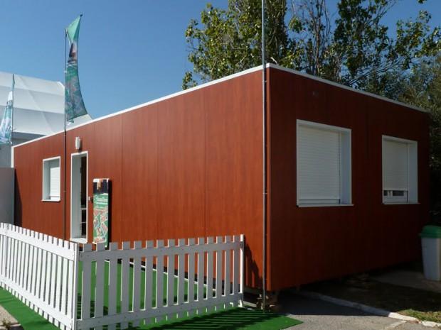 Innovación,  casas elaboradas con contenedores marítimos.