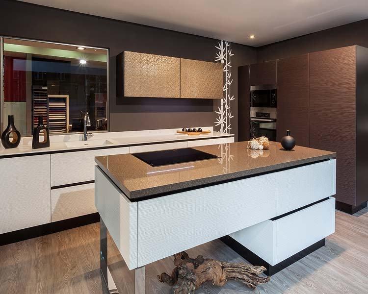 Amueblar la cocina con muebles auxiliares.