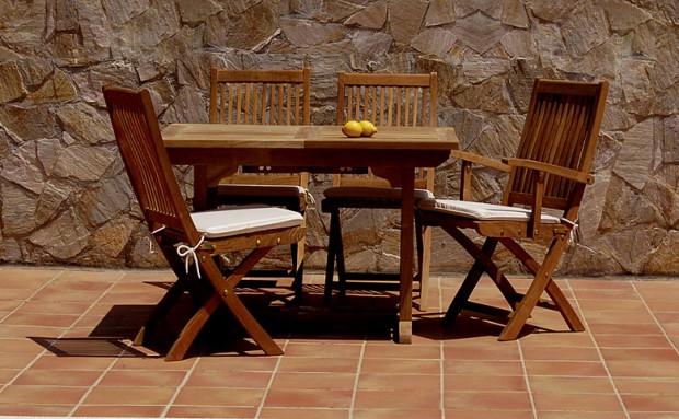 Las maderas mas ideales para mobiliarios de exterior.