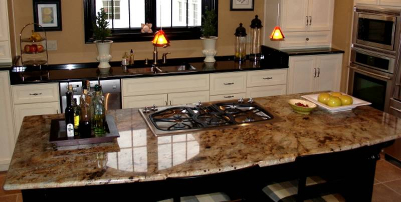 Lo mejor de las encimeras de granito for Mejor material para encimeras de cocina