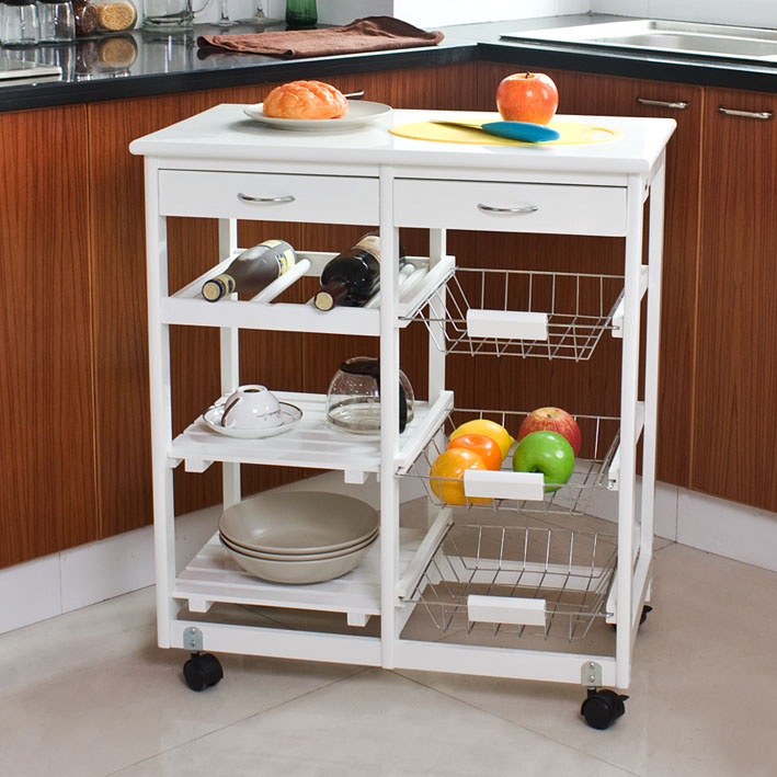 Amueblar la cocina con muebles auxiliares Muebles auxiliares baratos