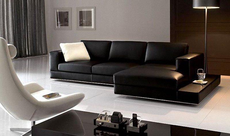 Decorar con muebles oscuros for Muebles para decorar