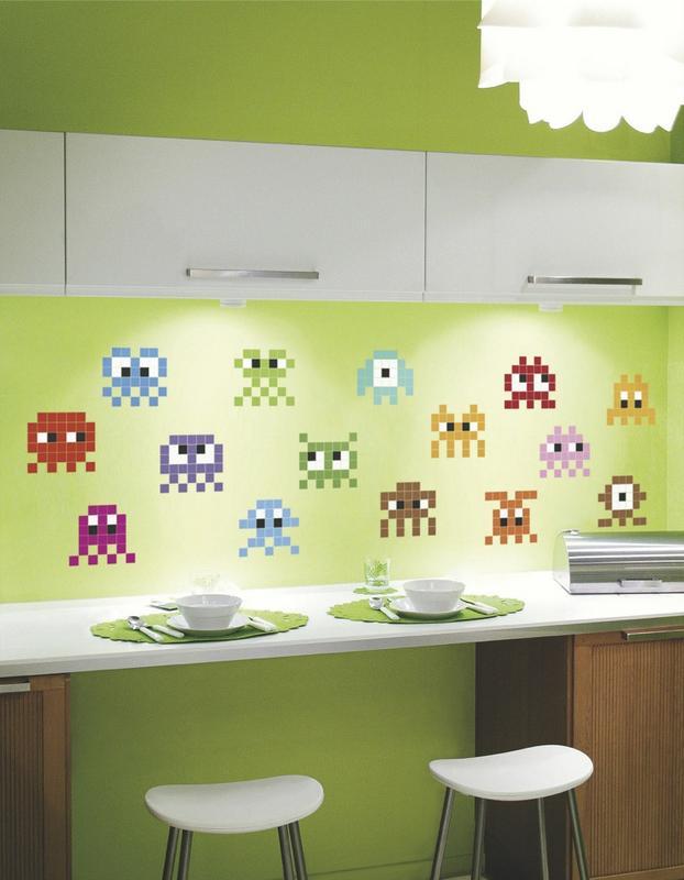Tendencias decorando las paredes de la cocina - Papel de vinilo para cocinas ...