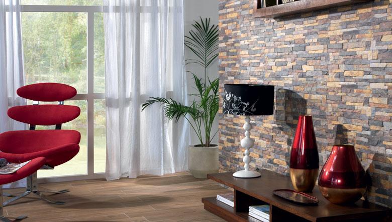 Tipos de azulejos para decorar for Tipos de piedras para paredes interiores