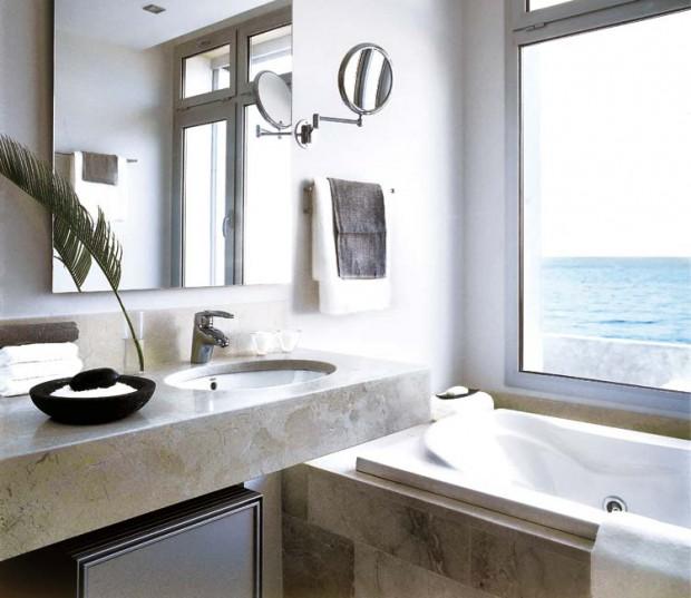 Que color aplicar en baños de pequeñas dimensiones