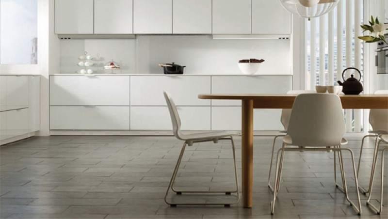 Los mejores suelos para la cocina - Suelos de cocina modernos ...