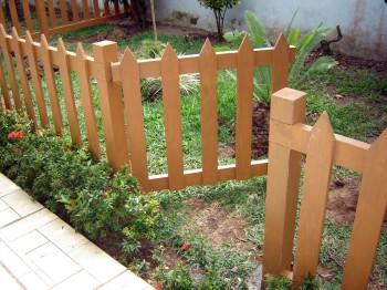 Tipos de cerca para el jardín.