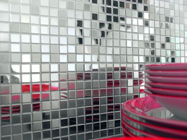 revestimiento en mosaicos.