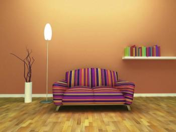 Buena utilización de los estampados y texturas en el hogar.