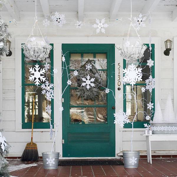 C mo decorar la puerta de entrada for Decoracion de la puerta de entrada