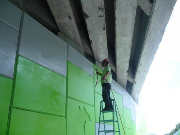 Dile adiós al grafiti en las paredes con estas pinturas.