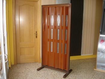 Especificaciones de las puertas plegables.