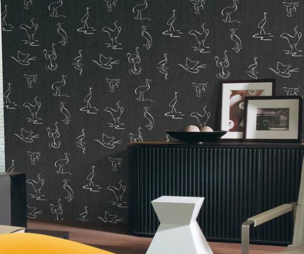 Ideas para escoger el papel tapiz para el hogar.