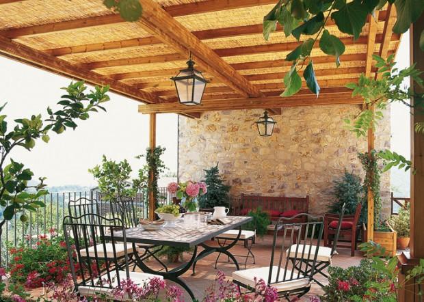 Materiales ideales para el jardín.