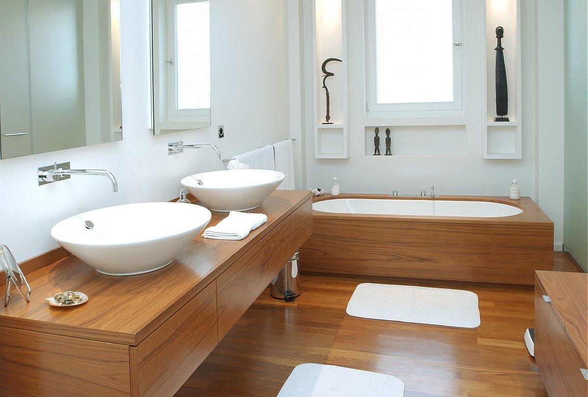 Pisos resistente para el baño.