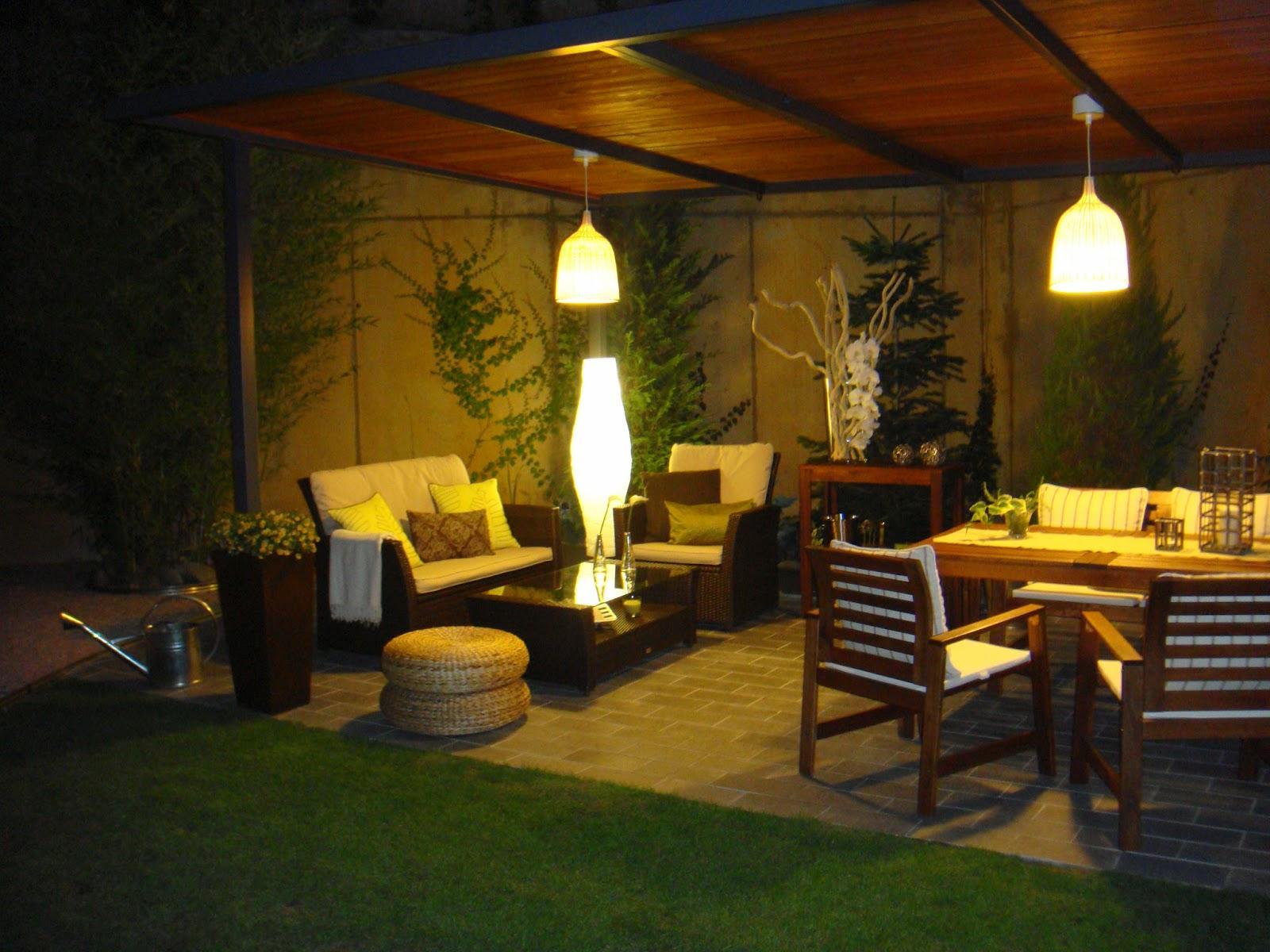 La iluminaria ideal para la terraza Iluminacion de terrazas exteriores