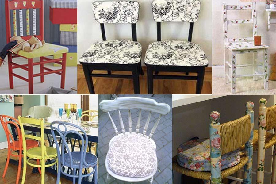 Renovar las sillas viejas del hogar for Renovar hogar