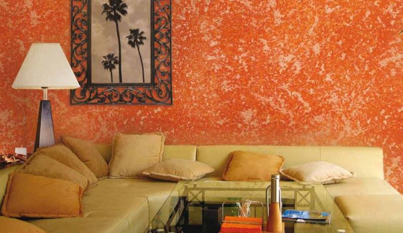 Lavar el color t cnicas para pintar paredes - Como pintar una pared con textura ...