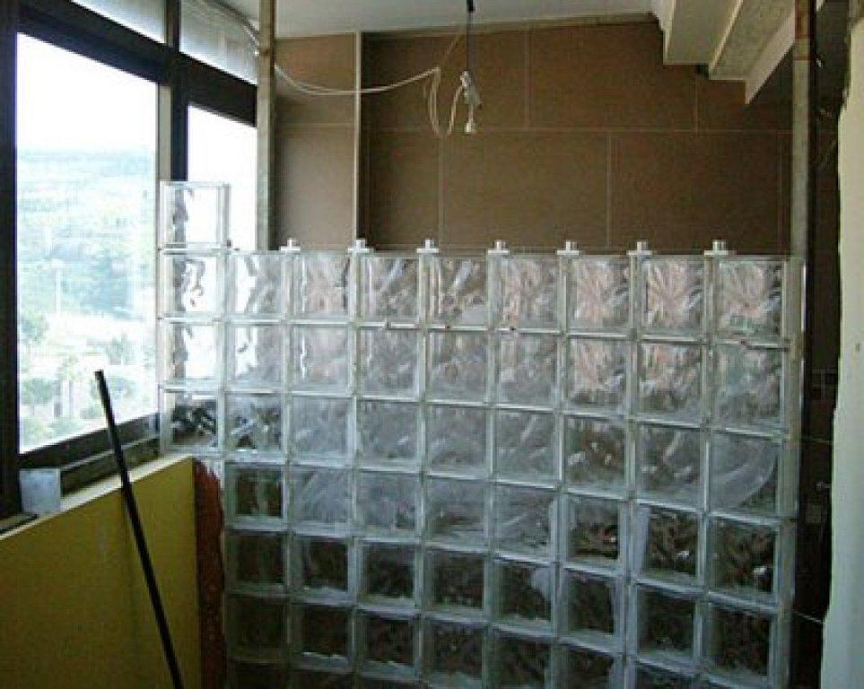 Utilizaci n de los bloques de pav s - Como colocar ladrillos de vidrio ...