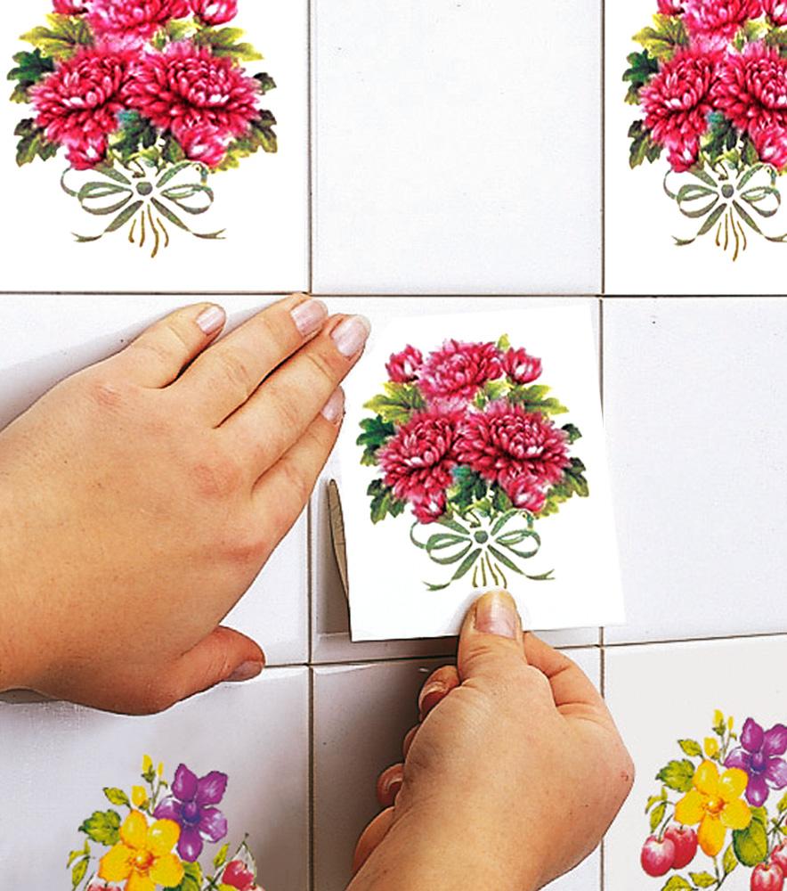 El uso de los azulejos autoadhesivos en la decoraci n for Disenos de azulejos para cocina