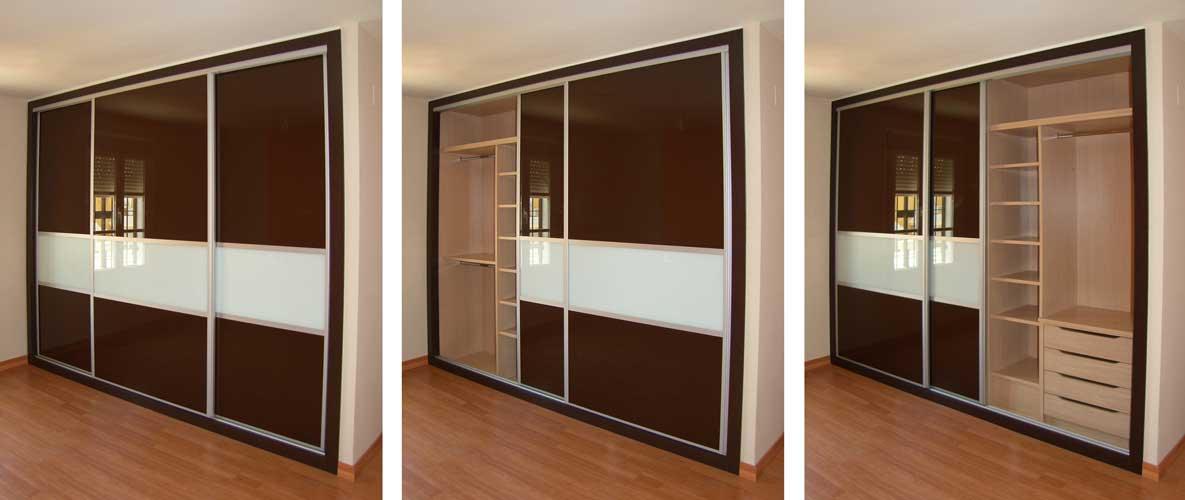Armarios fotos tipos y utilidad for Modelos de closets para dormitorios