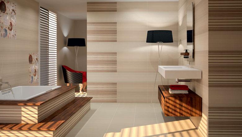 Azulejos para ba os modernos estilos e ideas Azulejos rusticos para interiores