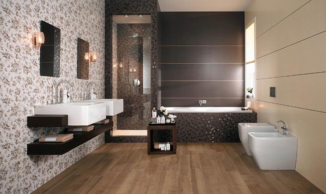 Azulejos para ba os modernos estilos e ideas - Papel para azulejos de bano ...