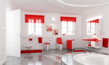 Baños modernos.