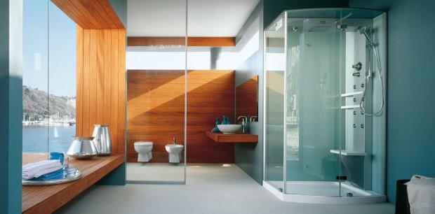 Baños mucho mas elegantes con el uso de las cabinas de ducha.