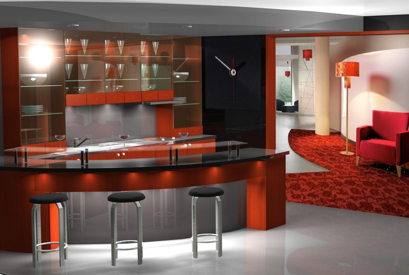 Barras para cocina estilos e instalaci n for Mueble barra cocina