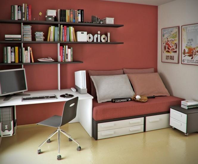Espacios de trabajo decorando una oficina en la casa - Como decorar una casa ...