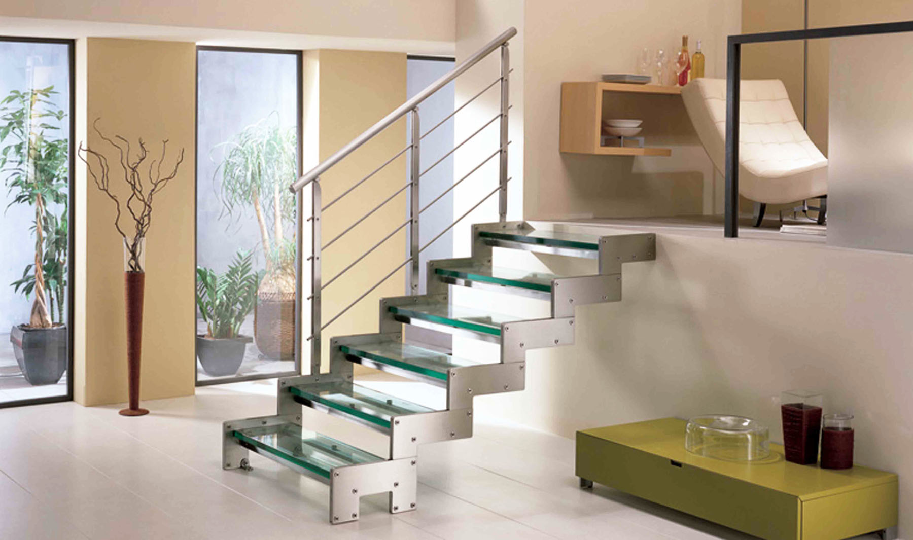 Escaleras construcci n reformas decoraci n for Escaleras de salon