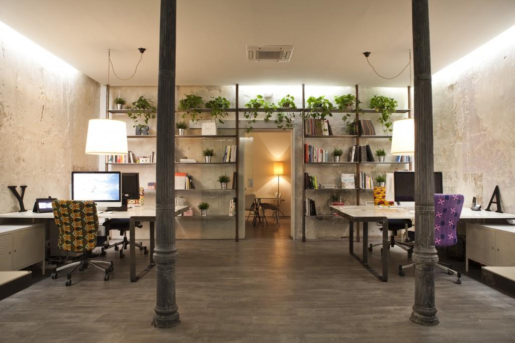 Espacios de trabajo decorando una oficina en la casa for Ambientes chicos