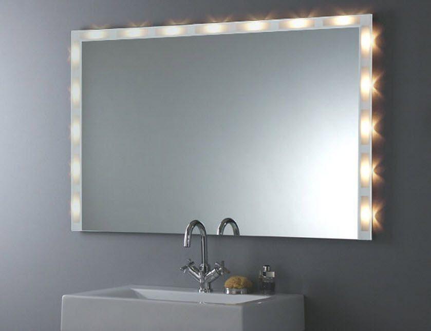 Espejos de ba o espejos - Como decorar un espejo de bano ...