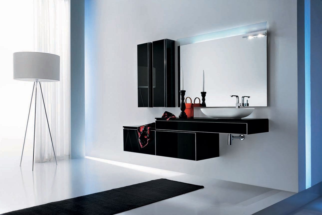 fotos de ba os modernos ideas para decorarlos. Black Bedroom Furniture Sets. Home Design Ideas