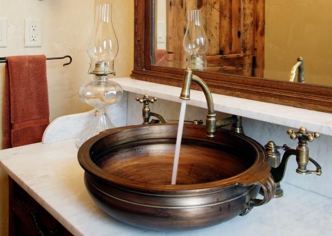 Lavabos r sticos estilo en el ba o for Muebles de lavabo rusticos