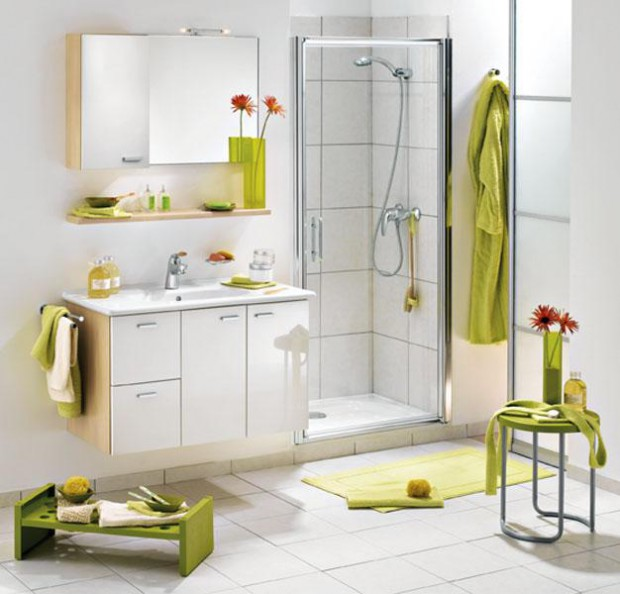 Lo nuevo en decoración de baños.