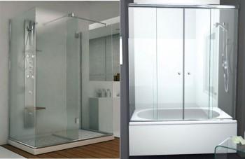 Mamparas para bañeras