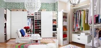 Organización ropa y zapatos.
