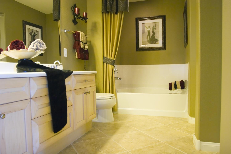 Pintura para ba os duchas con encanto - Colores para banos ...