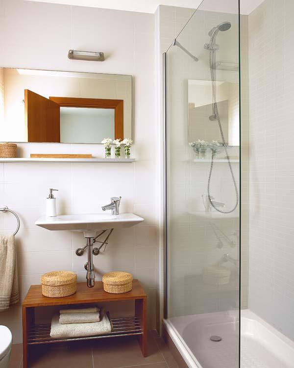 Tácticas decorativas para baños.