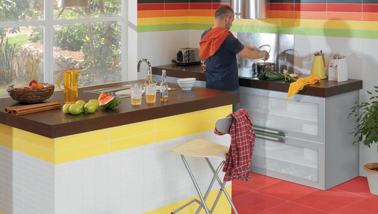 Azulejos para cocinas cer mica y porcelanato - Modelos de azulejos para cocina ...