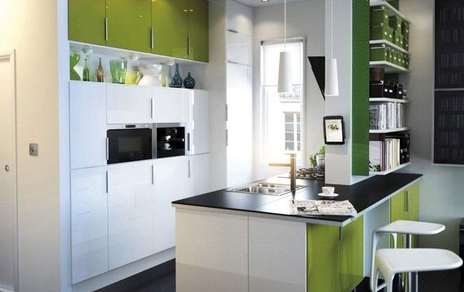 Accesorios de cocina azulejos y complementos for Cocinas integrales con isla pequenas