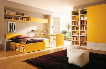 interiores amarillos